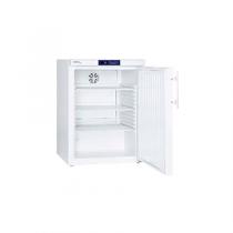 Frigider de laborator Liebherr LKUv 1610 cu răcire ventilata Volum brut/util: 180/160l Exterior metalic alb Interior polistirol alb