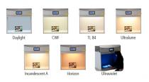 Detaliu 1 cabina evaluare culoare SpectralLight QC