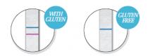 Detaliu test rapid detectare gluten
