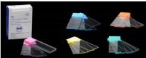 Lame microscop 76x26mm, banda mata diferite culori