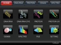 Detaliu 1 Spectrofotomentru analizor  ADN Master